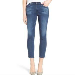 AG ADRIANO GOLDSCHMIED the prima crop cig jeans 32